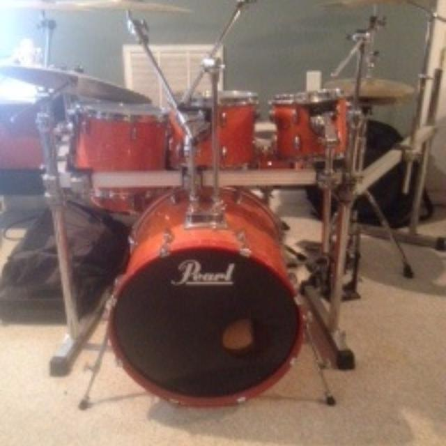 f9f89998fab9 Best Pearl Drums And Pearl Icon Drum Rack for sale in Tampa