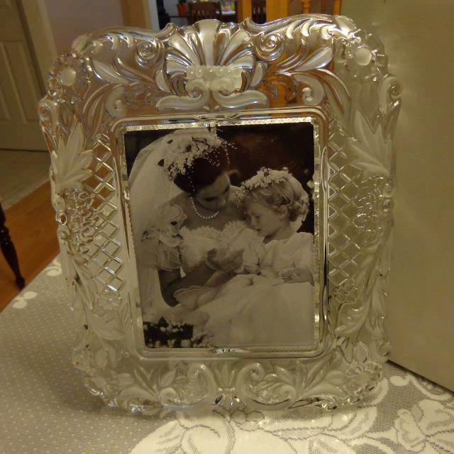 mikasa timeless love picture frame size 15 14 boxed