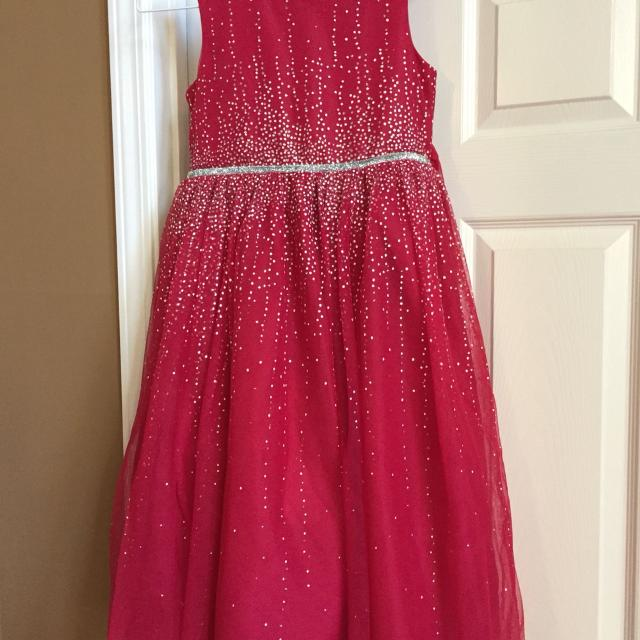 gorgeous red valentines dance dress red with silver