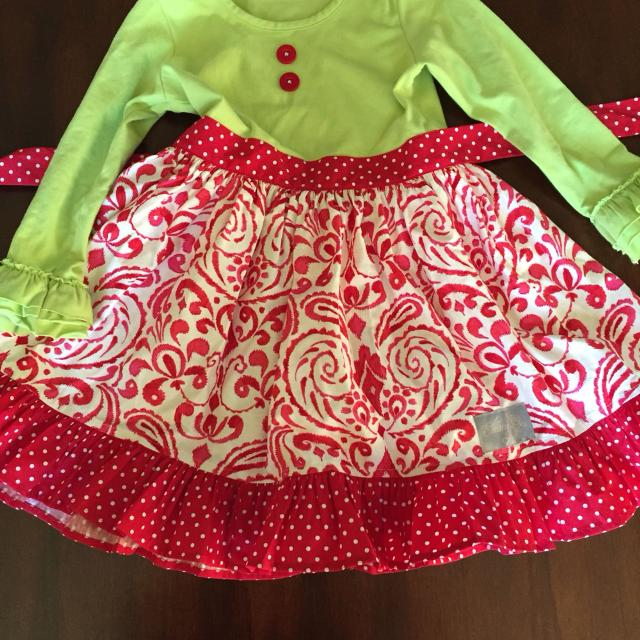 33cc2757dc33 Find more Eleanor Rose Christmas Surprise Dress Size 4/5 for sale at ...