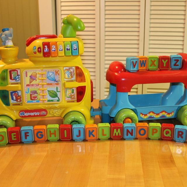 Best Vtech Sit To Stand Ultimate Alphabet Train For Sale In Hoover