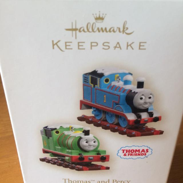 Find More Thomas The Tank Engine Hallmark Keepsake Ornaments Nib For
