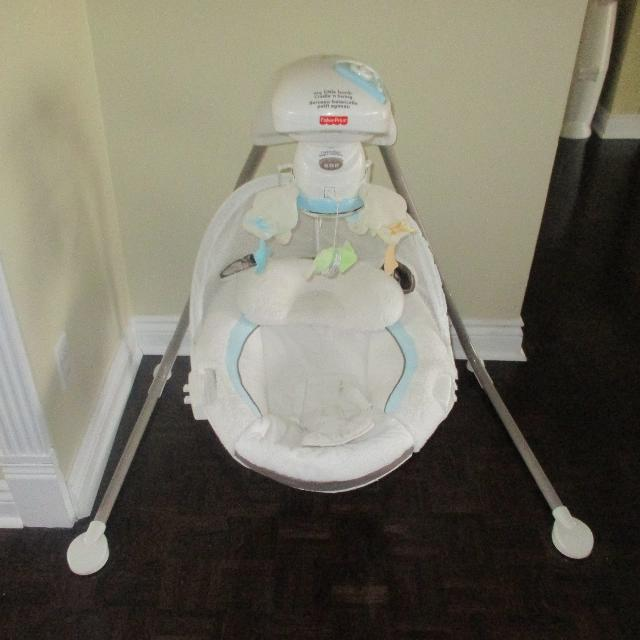 Find More Fisher Price My Little Lamb Cradle N Swing Battery