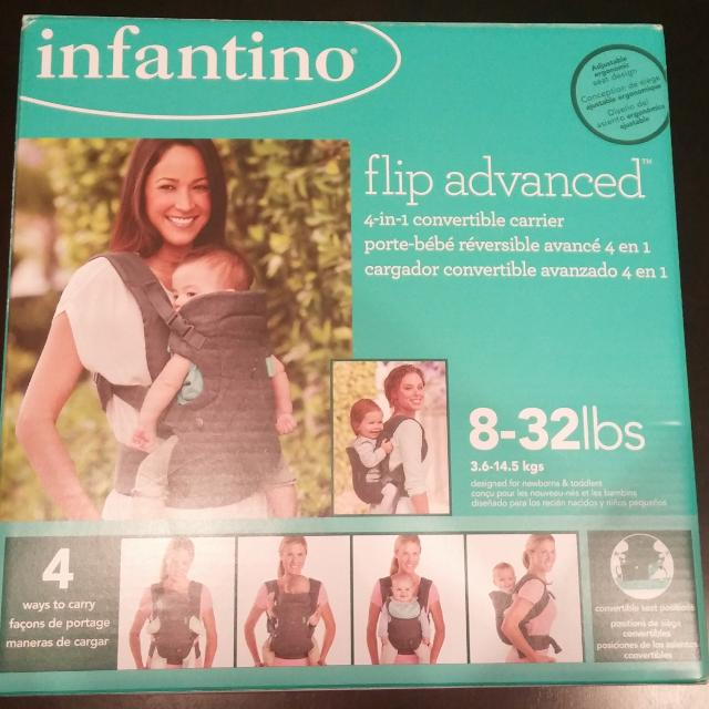 c2d6db95d69 Find more Infantino Flip Advanced 4 In 1 Convertible Baby Carrier ...
