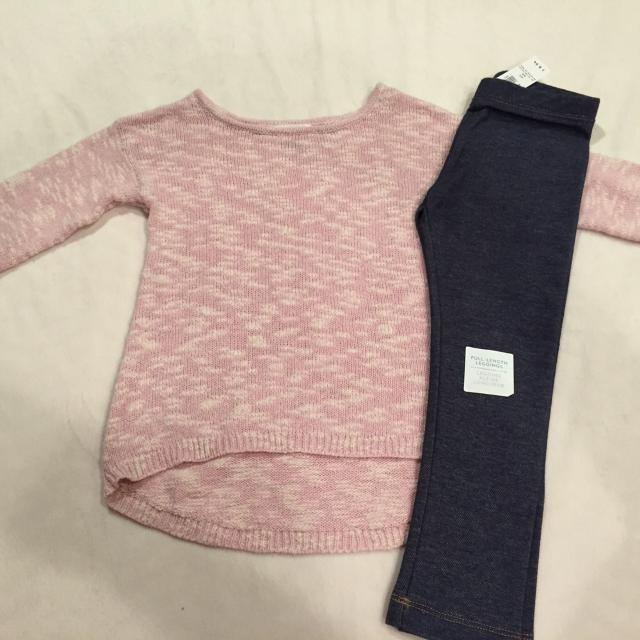 b20cd6955 Find more Reduced!nwt!! Old Navy Toddler Girl Size 4t Leggings And ...