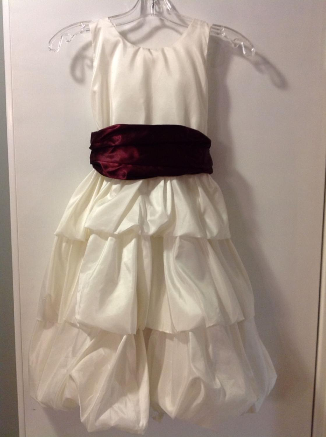 15931263bb Wine Colored Flower Girl Dresses - Gomes Weine AG