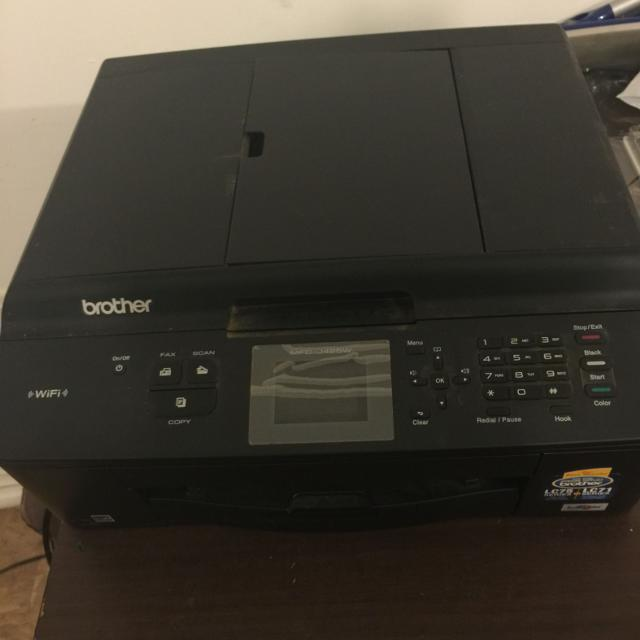All-in-One Brother LC75/LC71 Series Printer w/ WiFi