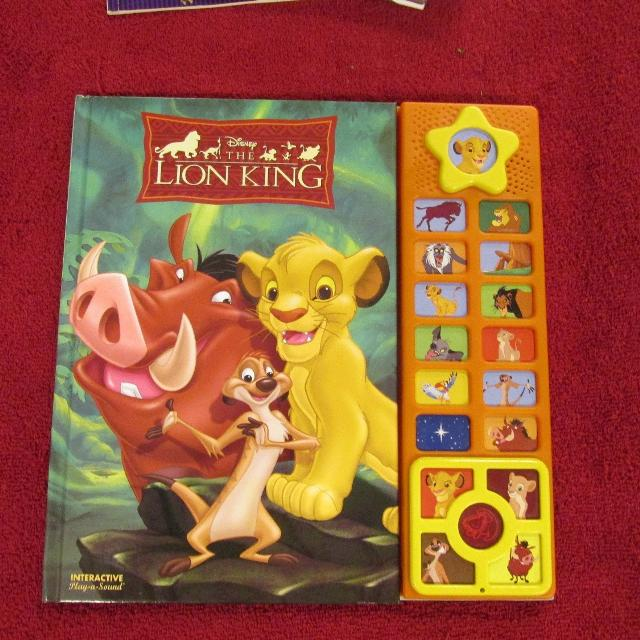 Find more Hc The Lion King Interactive Playasound Book for sale