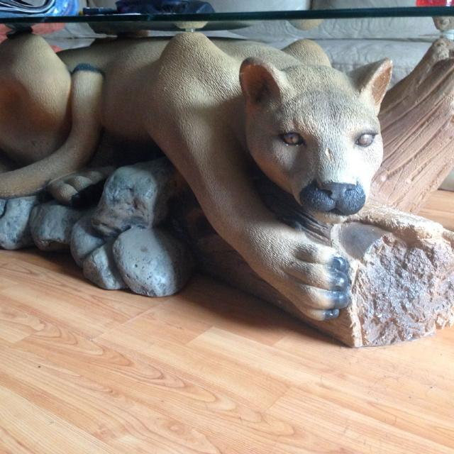 Mountain lion coffee table - Find More Mountain Lion Coffee Table For Sale At Up To 90% Off