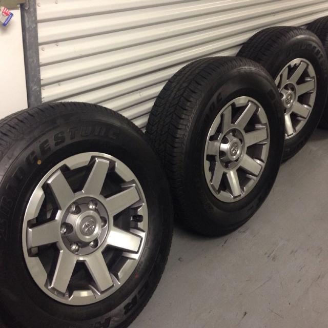 Best New Tires W Toyota Brand Wheels Size 17 Bridgestone For In Houston Texas 2019