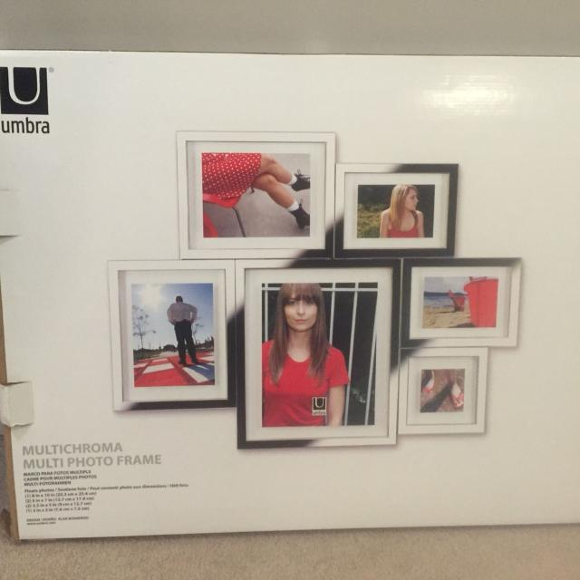 Find more Multi Chroma Picture Frame 1 8x10, 2 5x7, 2 3.5 And 1 3x3 ...
