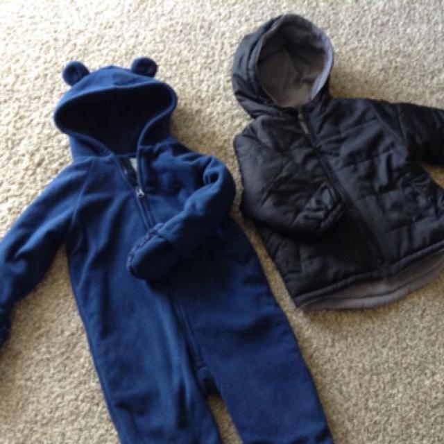 3bd47592ba65 Best Old Navy Baby Snowsuit  Reversible Jacket for sale in ...