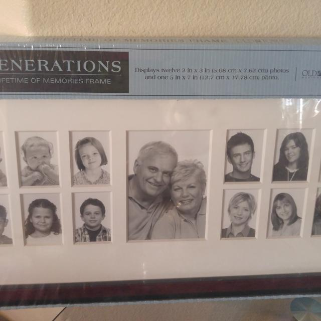 Best Solid Wood Old Town Generations Frame, New, Still In Plastic ...