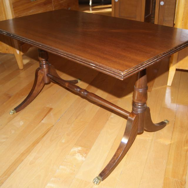 Antique Coffee Table For Sale Kijiji: Find More Antique Duncan Phyfe Coffee Table Solid Wood