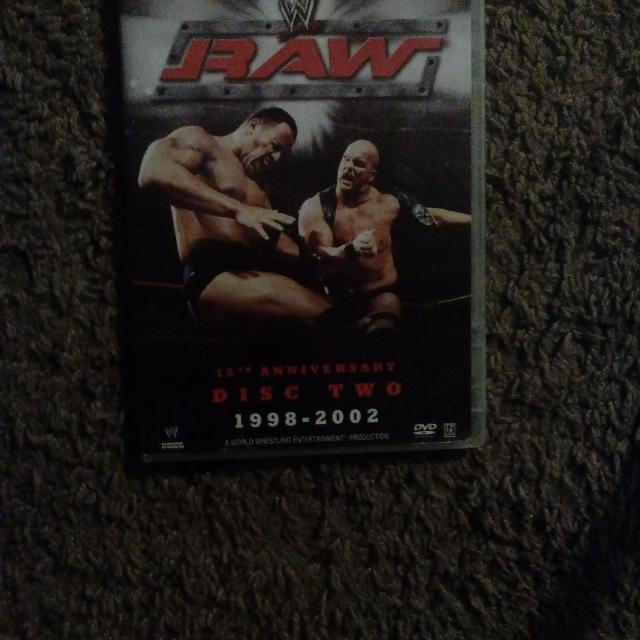 WWE the best of Raw 15th anniversary 1998-2002