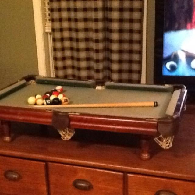 Find More Minnesota Fats Miniature Pool Table For Sale At Up To Off - Fats pool table