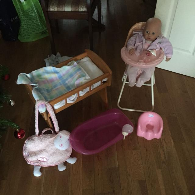 Best Baby Annabel, Baby Annabel High Chair, Baby Annabel Changing ...