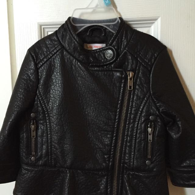 8096e3ce0d50 Find more  10 Bnwt 3-6 Month Baby Girl Faux Leather Jacket. for sale ...