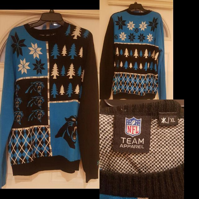 776b4b3a1 Find more Carolina Panthers Christmas Sweater for sale at up to 90% off