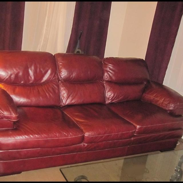 Leather Furniture Hickory North Carolina: Best Craftmaster Leather Sofa And Chair For Sale In