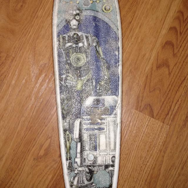 Vintage Star Wars Skateboard R2 D2 C 3PO