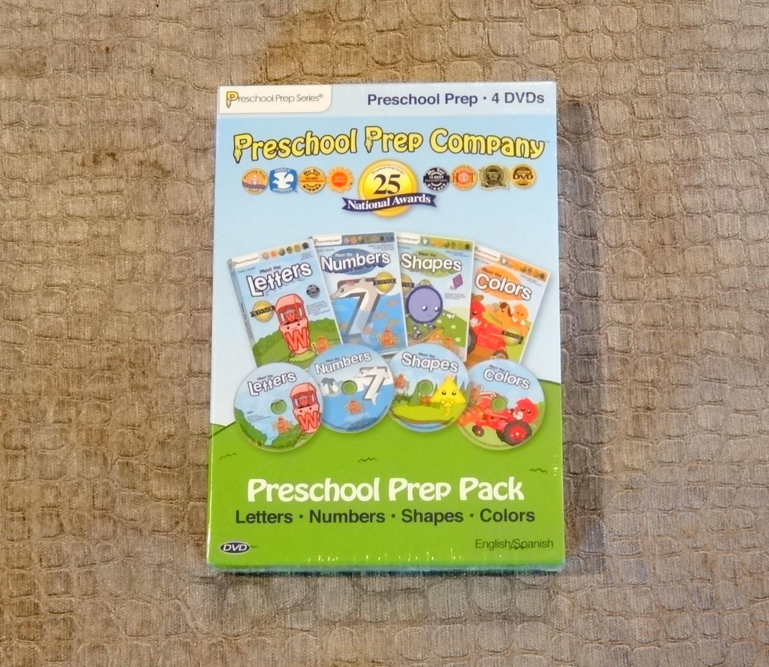 Best *new* Preschool Prep Pack - 4 Dvds for sale in Parker, Colorado ...