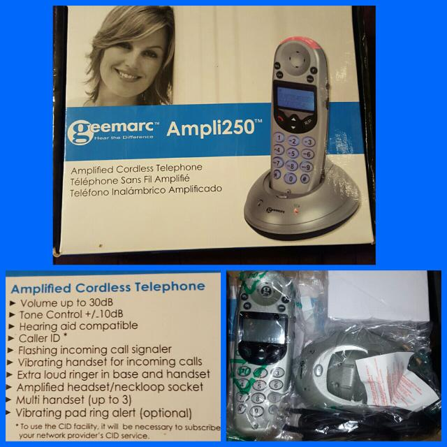 Hearing Impaired Amplifier Phone OBO