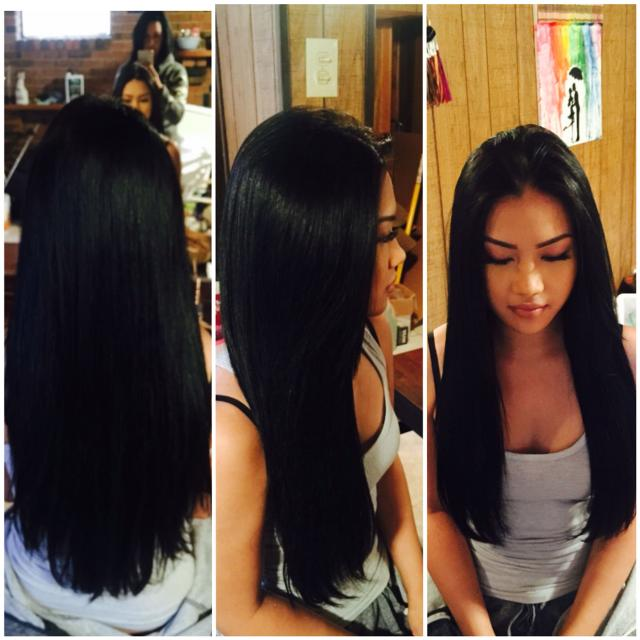 Certified Hair Extensions Hot Fusion Microlink Tape In In