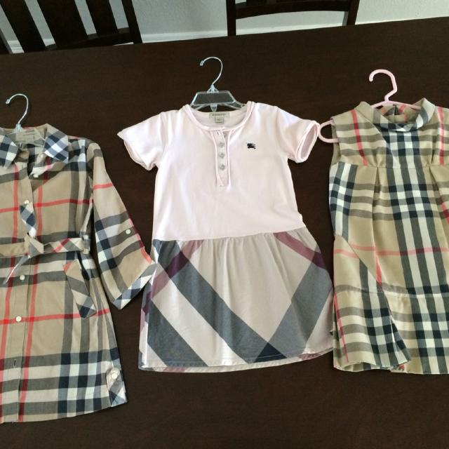 415300e6f034 Find more Burberry Toddler Girl Dresses. 1 Button Down Wrap Dress In ...