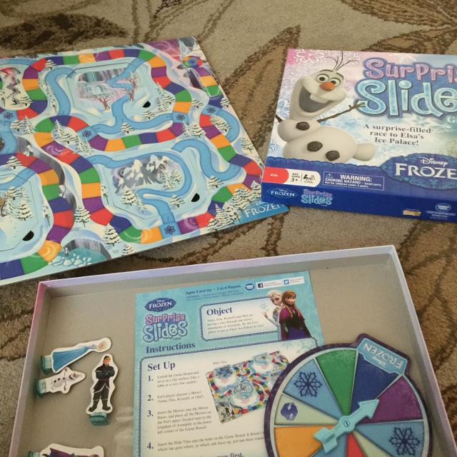 Find More Frozen Surprise Slides Game Maybe Like Chutes And Ladders