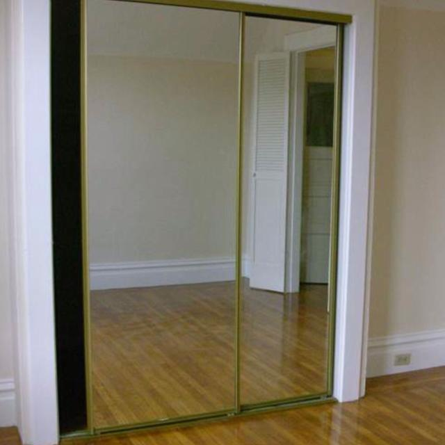 Find More Mirror Sliding Closet Doors Actual Frame Color In Picture