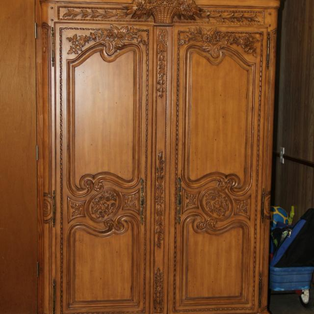 Find More Drexel Heritage Armoire 50 Inches Wide 82 Inches Tall With