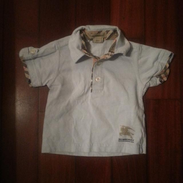 75cd2fec Find more Infant Boys Authentic Burberry Polo Shirt Size 6 Months ...