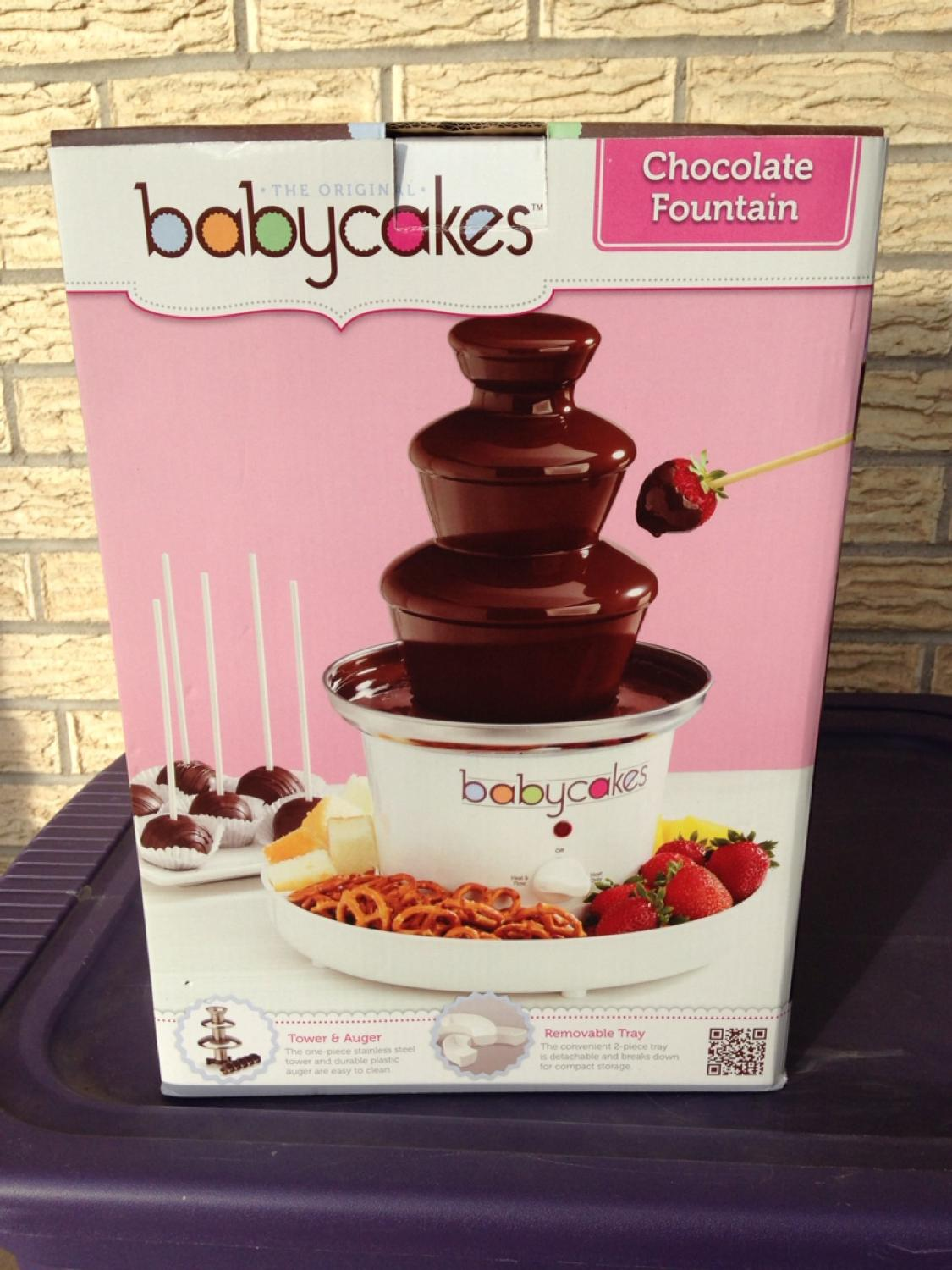 Find More Babycakes Chocolate Fountain Brand New For Sale At Up To