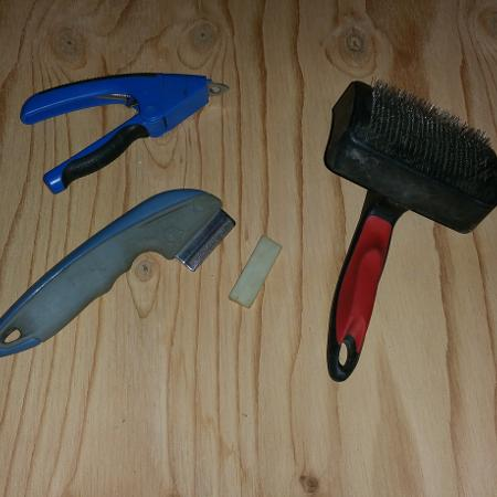 Used, Pet brushes and nail clipper for sale  Canada