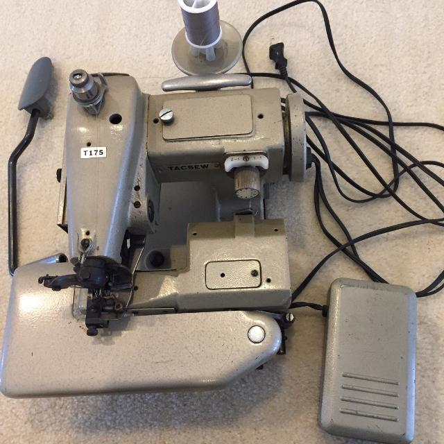 Best Tacsew T40 Industrial Blindstitch Sewing Machine Paid 40k Beauteous Blind Hemmer Sewing Machine Sale