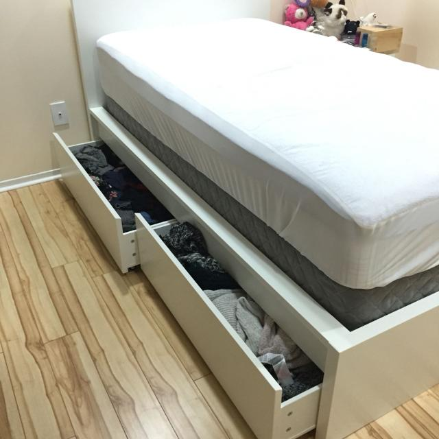 updated single mattress box spring and ikea bed frame with drawers reduced - Ikea Bed Frame Box Spring