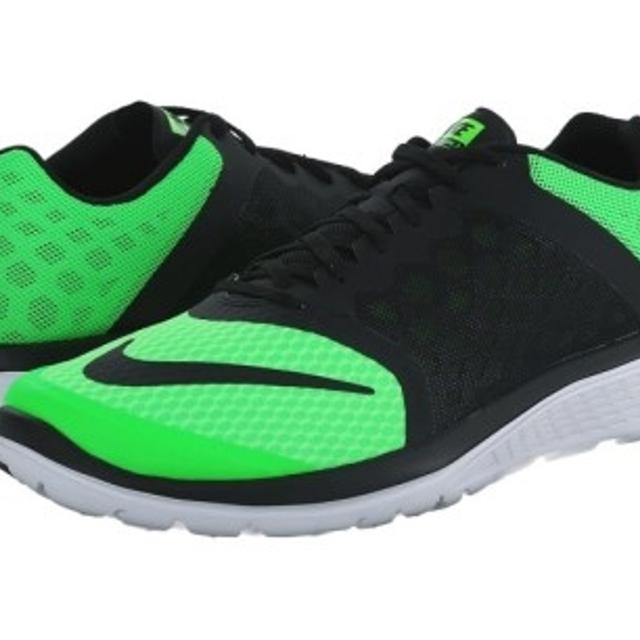 official photos 112ab a2fd6 Mens Nike FS Light Run 3 Neon Green  Black ...