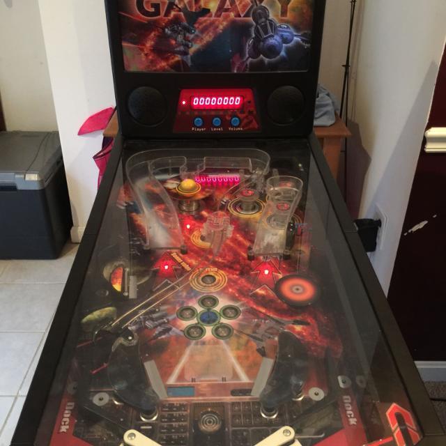 Star Galaxy pinball machine