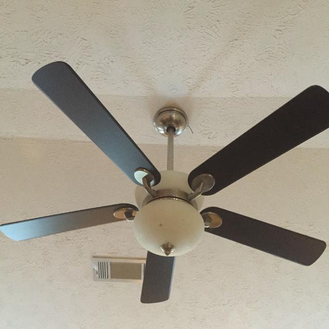 Hampton Bay Mediterranean 52 Brushed Nickel Remote Control Ceiling Fan More Pictures