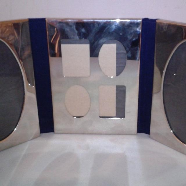 Find More International Silver Company Silver Plated Triple Tri Fold