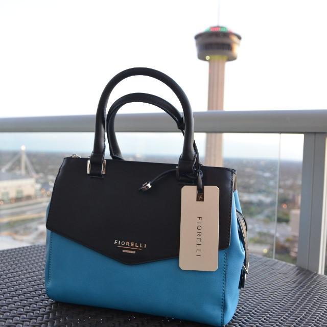 Fiorelli Mia Cyan Blue Block Grab Bag New Rarely Found In The Us London