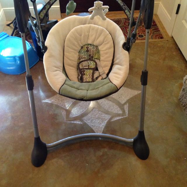 Find more Graco Baby Swing. Purchased New At Target For $70. Used ...