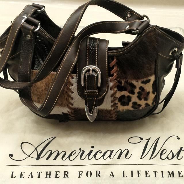 American West Purse From The Lucky Cow Collection
