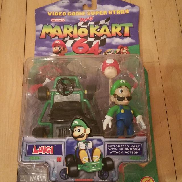 Find More Mario Kart 64 Figure Nib Luigi For Sale At Up To 90 Off