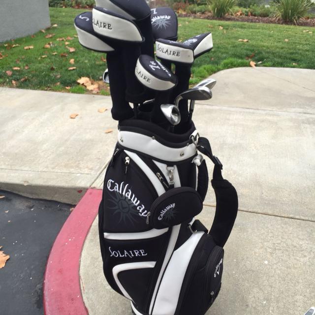 Women S Golf Clubs Callaway Solaire Bonus 3 Hybrid Merry Christmas