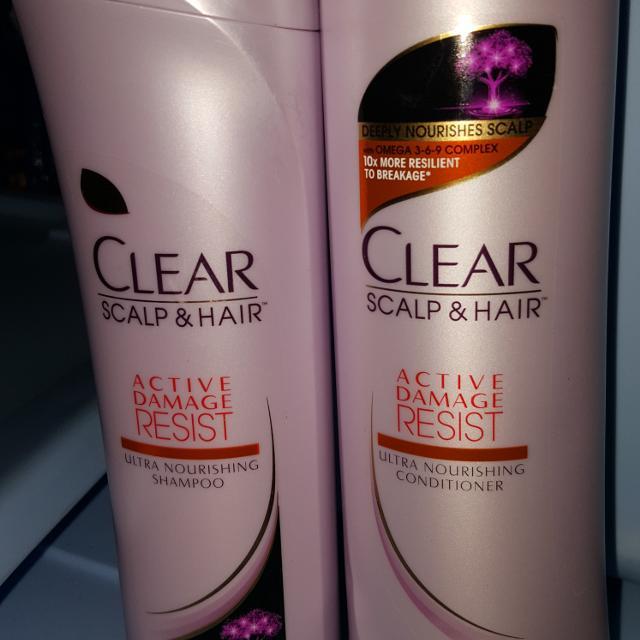 Clear Shampoo Conditioner