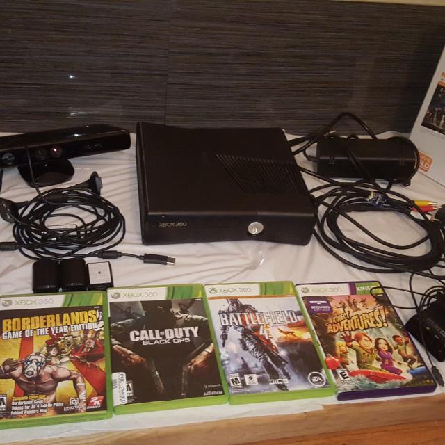 Xbox 360 Slim 250gb Glossy Black