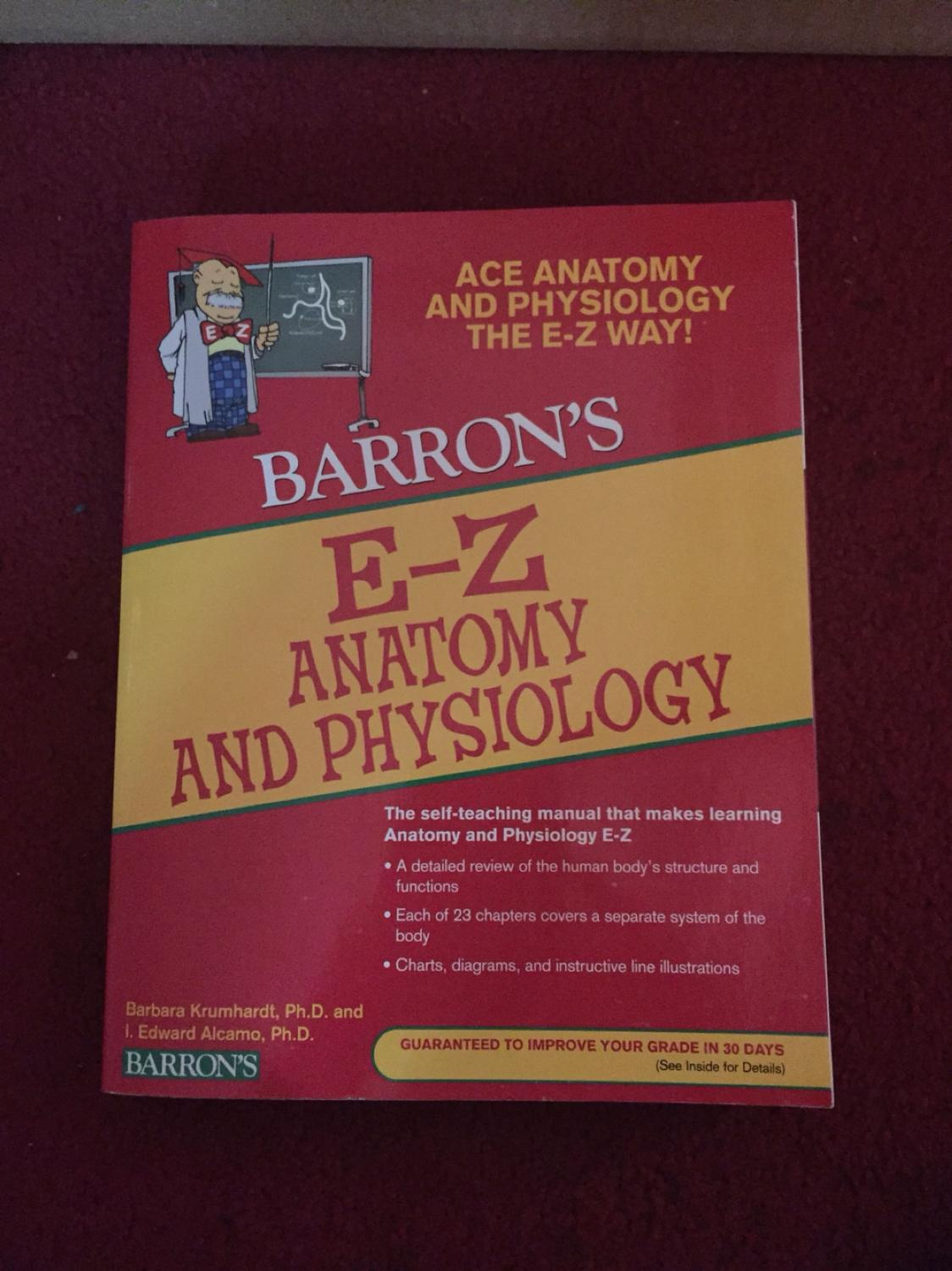 Best E-z Anatomy And Physiology Book for sale in Cypress, Texas for 2018