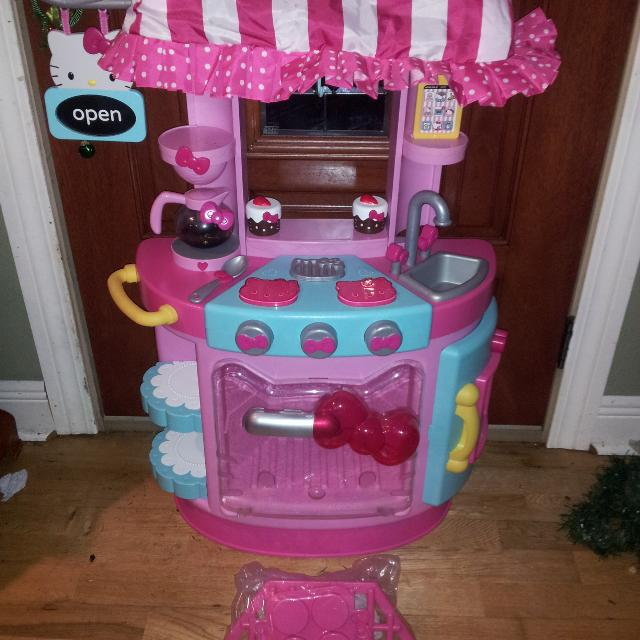 Kitchen Set For Sale: Find More Hello Kitty Cafe Play Kitchen Set For Sale At Up